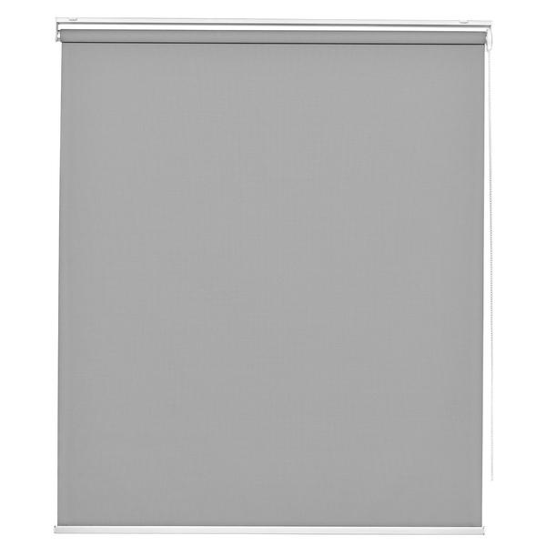 Persiana rol tecido poli ster tela solar cinza 1 40x1 60m - Tela mosquitera leroy merlin ...