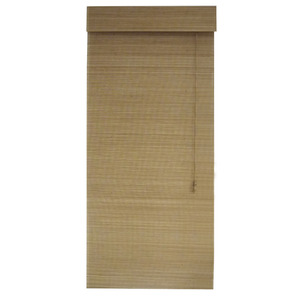 Persiana Romana Bambu Bege 1,80x0,80m