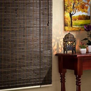 Persiana Romana Top Flex Bambu Marrom 1,60x1,00m