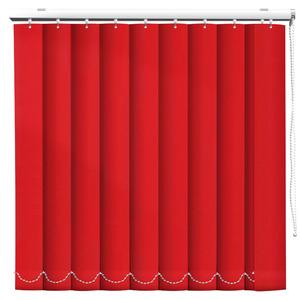 Persiana Vertical Melle Vermelha Sob Medida (Por M²) Columbia