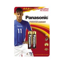 Pilha Alcalina Palito AAA Panasonic