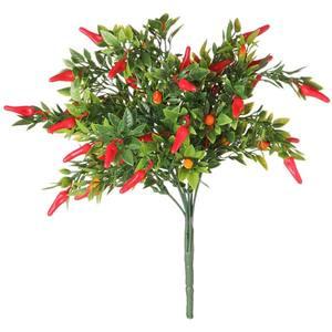 Pimenta Vermelha 34cm Flor Arte
