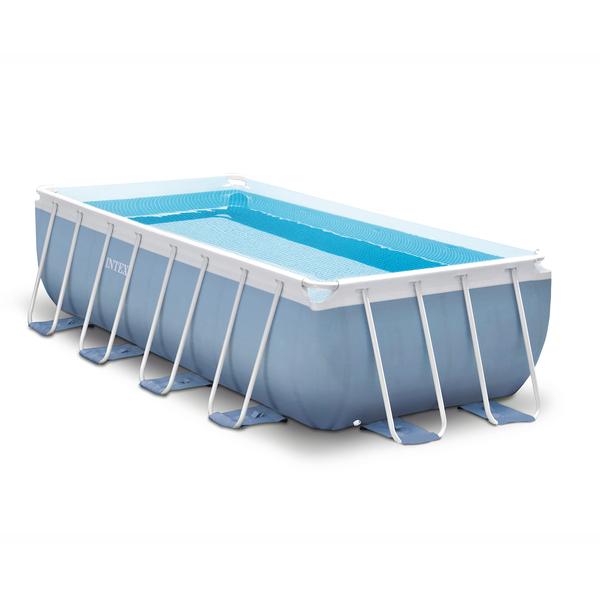 Piscina armar retangular prism 10874l com escada capa for Filtro para piscina intex
