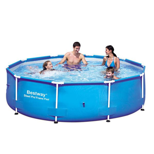 piscina de armar redonda bestway leroy merlin