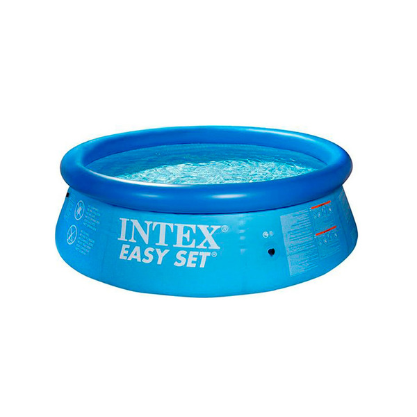 Piscina infl vel redonda 5621l intex leroy merlin for Alberca intex redonda