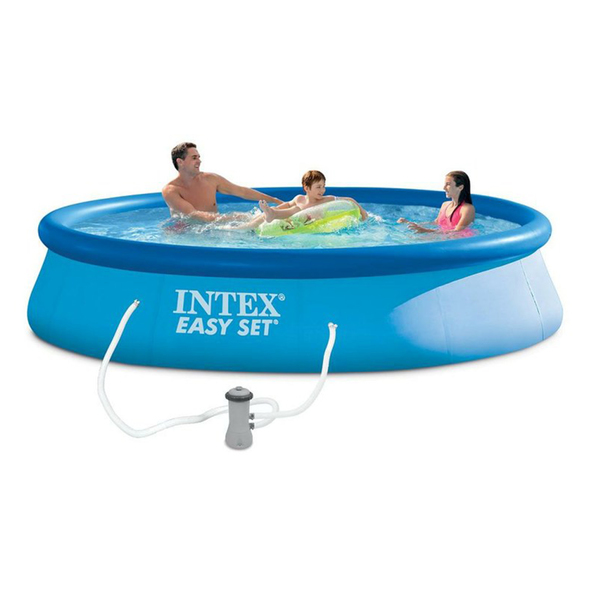 Piscina infl vel redonda 9792l com filtro 127v 110v intex for Alberca intex redonda