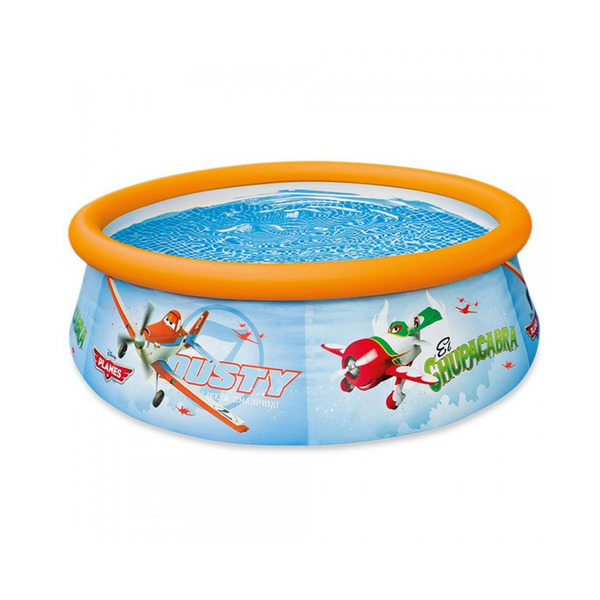 Piscina infl vel redonda avi es 886l intex leroy merlin for Alberca intex redonda