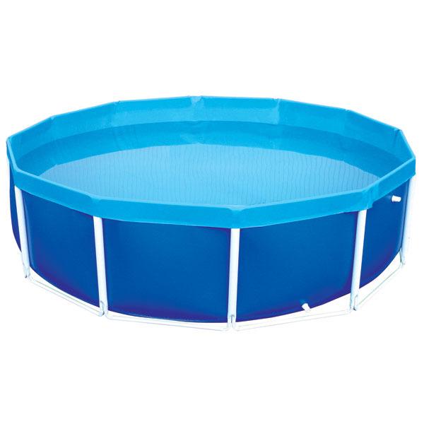 Piscina armar redonda 4500 litros mor leroy merlin for Piscina leroy merlin