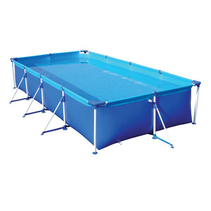 Piscina armar retangular premium 6200 litros mor leroy merlin - Depuradora piscina leroy merlin ...