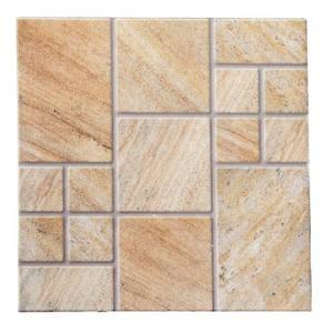 Piso cer mico esmaltado borda arredondada 52x52cm modelo - Nivelador de piso ceramico leroy merlin ...