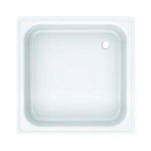 Piso Box Aço 90x90x14cm Branco Europa Celite