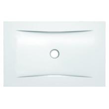 Piso Box Aço com Válvula 140x80x3cm Branco Superslim Celite