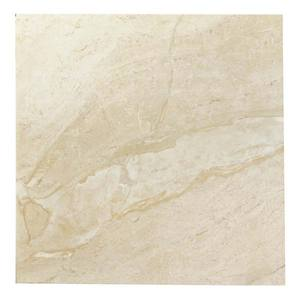 Piso Brilhante Bold Liso Marm Domme Lux HD5113 Beige 50x50 Eliane
