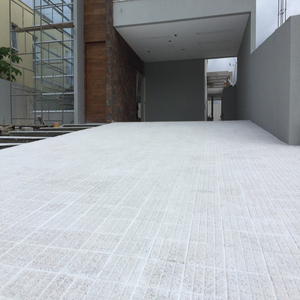 Piso Calçada Granatto Médio Branco 20x20cm Santorino Pisos