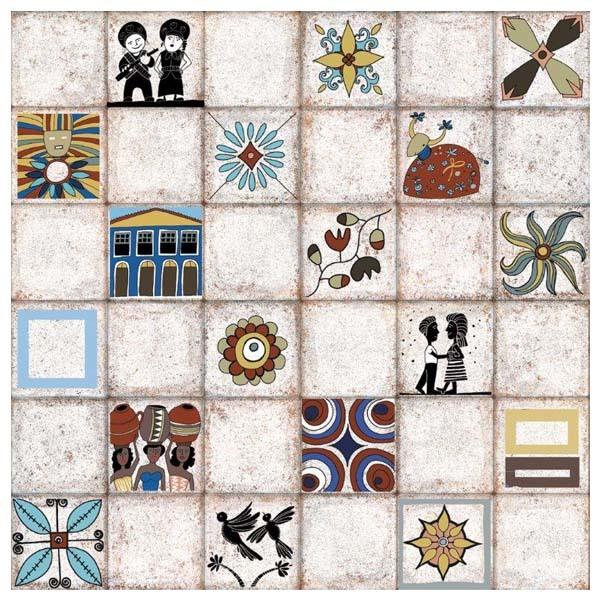 Mosaico hidraulico leroy merlin awesome serie tribeca for Suelo vinilico mosaico