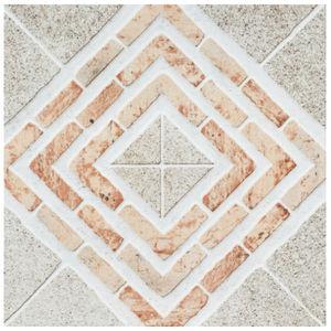 Piso Cerâmico Acetinado Borda Arredondada PS65850 57x57cm Incenor