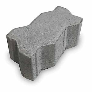 Piso de Concreto Intertravado Natural Unestein 11,25x22,50x6cm Tecmold