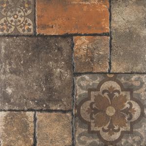 Piso cer mico esmaltado borda arredondada 53x53cm fattoria - Nivelador de piso ceramico leroy merlin ...