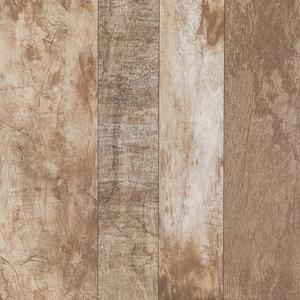 Piso Cerâmico Esmaltado Borda Arredondada 53x53cm Wood Marfim 73266 Porto Ferreira