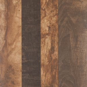 Piso Cerâmico Esmaltado Borda Arredondada 53x53cm Wood Nogal 73265 Porto Ferreira