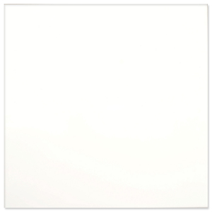 Piso Cerâmico Esmaltado Borda Reta 59x59cm Super Bianco Pamesa