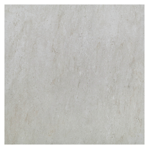 Piso Cerâmico Esmaltado Borda Arredondada 60x60cm modelo Mármore White Artens