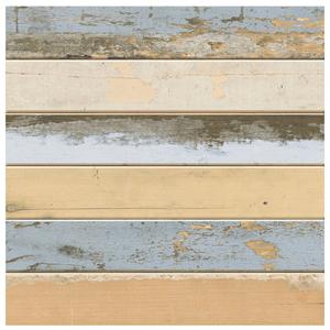 Piso Esmaltado Brilhante Borda Arredondada Wood Colors 48x48cm Pamesa
