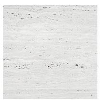 Piso Travertino Branco 50x50x1,2cm Sottile