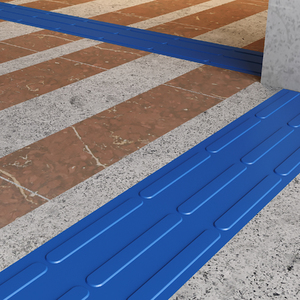 Piso Vinílico Kapazi  Tatil Direcional Azul Royal m²