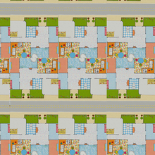 Piso Vinílico Tarkett Imagine Magic House Colorido 50m² Bobina