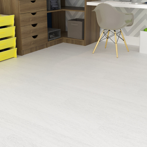 Piso Vinílico Tarkett Imagine Wood Virgin White 50m² Bobina