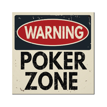 Placa Decorativ Poker Zone