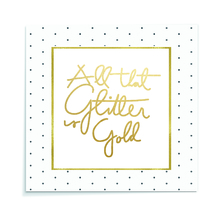 Placa All That Glitter 29x29cm