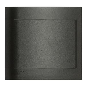 Placa Cega sem suporte 4X4 Vivace Carbono Siemens