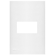 Placa com  Sup 4X2 1 Módulo Plast Abs Br Imperia Iriel