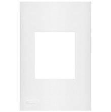 Placa com  Sup 4X2 2 Módulos Plast Abs Br Imperia Iriel