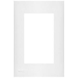 Placa com  Sup 4X2 3 Módulos Plast Abs Br Imperia Iriel