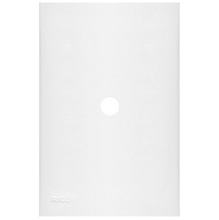Placa com  Sup 4X2 com Fur 0 Plast Abs Br Imperia Iriel