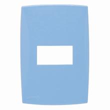 Placa com Suporte 4x2 Azul Lille Color Lexman