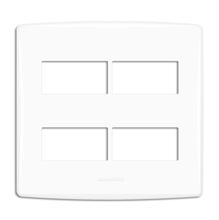 Placa com Suporte 4x2 Branco BiancoPró Alumbra
