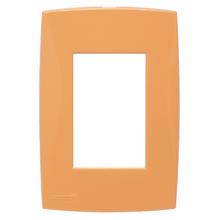 Placa com Suporte 4x2 Laranja Lille Color Lexman