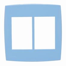 Placa com Suporte 4x4 Azul Lille Color Lexman