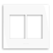 Placa com Suporte 4x4 Branco InovaPro Alumbra