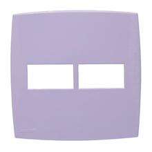Placa com Suporte 4x4 Lilás Lille Color Lexman