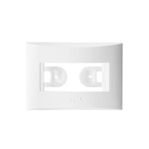 Placa com Suporte para Móveis Branco Brava Compact Iriel