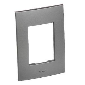 Placa com Suporte Vela 4x2 Alumínio - Pial Legrand