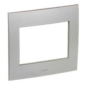 Placa com Suporte Vela 4x4 Alumínio - Pial Legrand