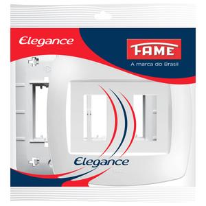 Placa com Suporte Vertical 4x4 Elegance Fame