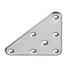 Placa de Montagem Triângulo 100x70mm Aço Zincado 1 unidade