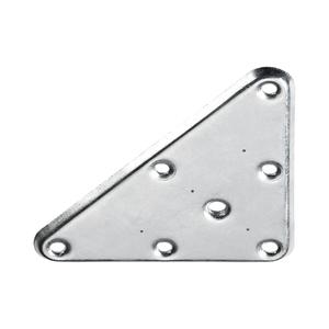 Placa de Montagem Triângulo 120x85mm Aço Zincado